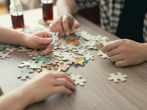 Mental Health Activities For Families - puzzles